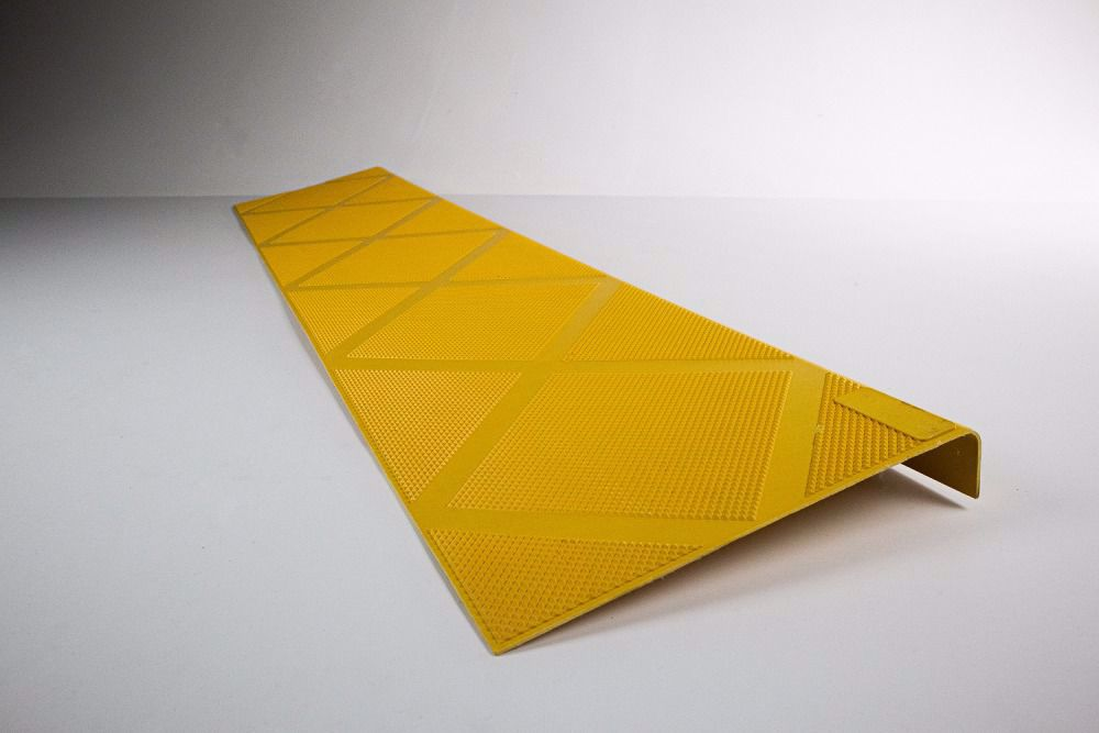 ComposiGrip Safety Yellow Step Cover
