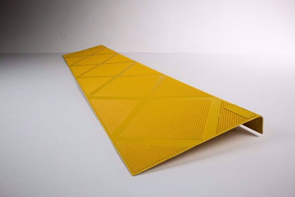 Picture of Composite Anti-Slip Stair Tread 48 in. Safety Yellow  Step Cover