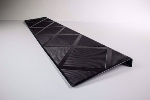 Picture of Composite Anti-Slip Stair Tread 48 in. Onyx Black  Step Cover