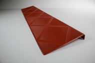 Picture of Composite Anti-Slip Stair Tread 48 in. Brick Red Step Cover